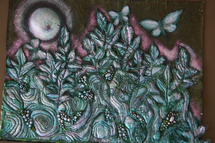 Moonlight on Butterflies by Heather Doram